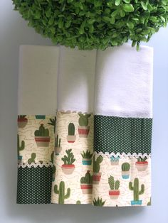 Dish Towels, Tea Towels, Potholders, Kitchen Towels, Diy And Crafts, Cactus, Sewing Patterns, Patches, Textiles