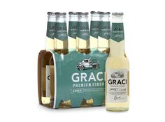 This Graci Premium Cider Will Quench Your Thirst With Ease #cider trendhunter.com