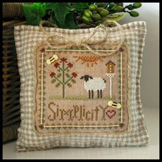 ~ Simplicity ~ Little Sheep Virtues 6, Little House Needleworks