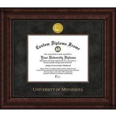 Celebration Frames DeVry University 8/½ x 11 Mahogany Finish Infinity Diploma Frame
