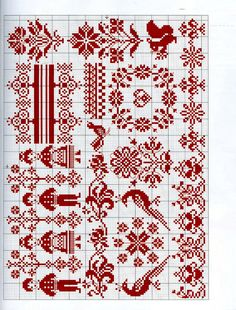 "Photo from album ""Creation point de croix on Yandex. Cross Stitch Bird, Cross Stitch Borders, Cross Stitch Samplers, Cross Stitch Flowers, Cross Stitch Charts, Cross Stitch Designs, Cross Stitching, Cross Stitch Embroidery, Cross Stitch Patterns"