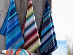 Colorful, 100% organic combed cotton beach towels from Spiaggia on The Grommet.com. They are quick drying, sand-repellant and come in these great colors. Love!