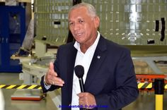 NASA Administrator Charles Bolden discussed the White House's 2014 FY Budget Request, which was released realier today. Photo Credit: Julian Leek / Blue Sawtooth Studio