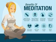 Meditation is daily medicine for the body and brain!
