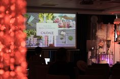 ONE DAY EVENT, Caudalie workshop, sea, beach, chic white and pink, seminar room
