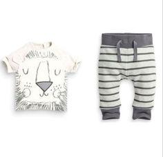 2pcs-Newborn-Toddler-Kids-Baby-Boy-T-shirt-Tops-Pants-Cotton-Clothes-Outfits-Set