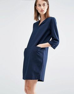 Selected | Selected Relaxed Dress with Pockets