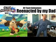 Watch Your Friend's Dad Perform Every Taunt In Super Smash Bros. - http://videogamedemons.com/watch-your-friends-dad-perform-every-taunt-in-super-smash-bros/