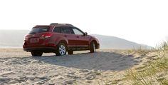 Subaru Outback 2011 - Gotta love that boxer engine.
