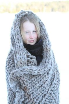 These blankets are beautiful from Fat Wool Company!