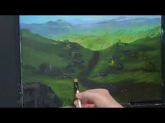 Mountain walk brecon, Acrylic painting for beginners, Acrylic Landscape Painting Lesson - - YouTube