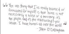 john o'callaghan <3