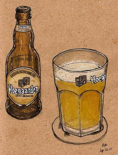 hoegaarden  by petescully, via Flickr