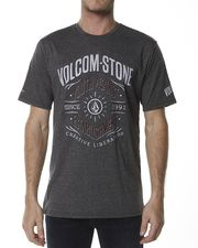 VOLCOM LIBERATION TEE - BLACK DUST on http://www.surfstitch.com