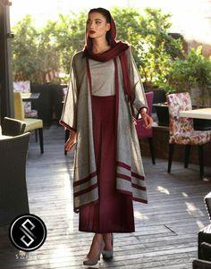 هنری تابستانه Abaya Fashion, Muslim Fashion, Women's Fashion Dresses, Dresses Dresses, Star Fashion, Girl Fashion, Girls Spring Dresses, Iranian Women Fashion, Hijab Style
