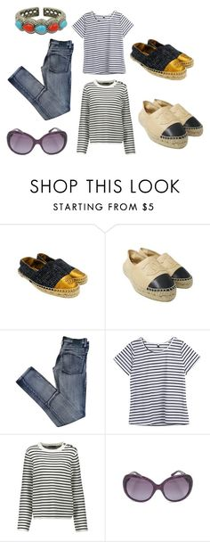 """""""Casual Look"""" by alexissuitcase on Polyvore featuring Chanel, Cheap Monday and Maje"""