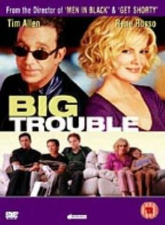 Big Trouble -- I love this movie. It suffered from bad timing, it makes fun of airport security and terrorism and it released soon after But it has a large ensemble cast and it is hilarous! There are so many fun moments. Plus a young Zooey Deschanel! Very Funny Movies, All Movies, Movies To Watch, Movies Online, Movies And Tv Shows, Awesome Movies, Love Movie, Movie Tv, Tom Sizemore