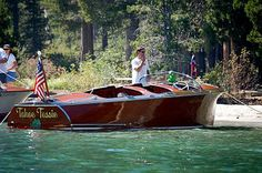 Gar Wood Streamliner…One of Seven Left Still In Existance.   Classic Boat News / Woody Boater