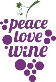 """""""peace love wine"""" #quote"""