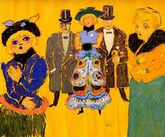 Fikret Mualla Painter Artist, Bernard Shaw, Turkish Art, Fauvism, Mixed Media Art, Digital Illustration, Colours, Drawings, Pictures