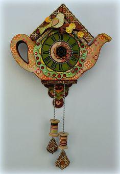 a teapot clock