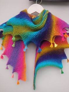 Echarpe ,Chèche femme ou enfant tricotée main : Echarpe, foulard, cravate par filaupat