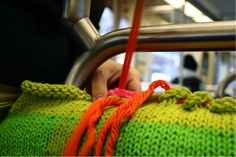 How to Yarn Bomb - Tutorial on Craftsy.com