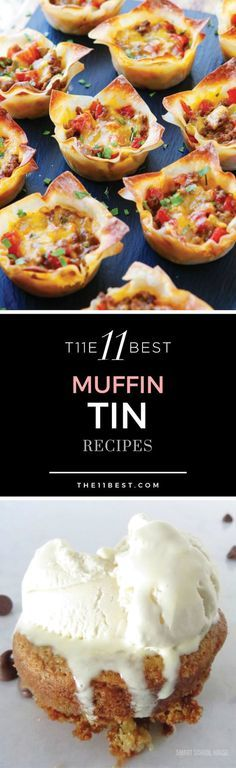 Muffin Tin Recipes. Easy enough! Definitely worth a try....