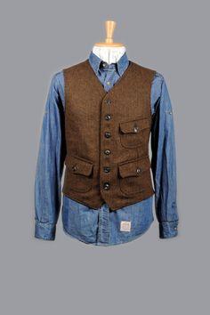 9721 – BZ Miner Vest | Filson – Better Outdoor Clothes – Since 1897