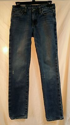 Boys size 14 Polo Ralph Lauren skinny distressed jeans 650 excellent condition