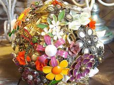Brooch Bouquets Made to Order by nicolasacicero on Etsy, $70.00