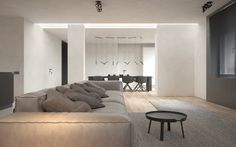 Three Room Apartment by KDVA Architects   HomeAdore