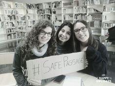 #PasajeSeguro #SafePassage #27F Refugees welcome Happy, Frases, Ser Feliz, Being Happy
