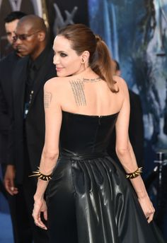 Angelina with rad accessories!