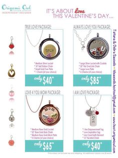 Lets make Origami Owl Valentine easy so your significant other.....