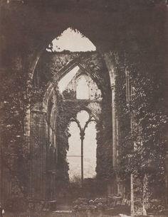 John Wheeley Gough Gutch Abbey Ruins, circa 1858 - Salt and Silver: Early Photography 1840 – 1860