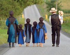 I love this Amish family!
