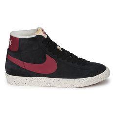 86c6fbcec7e Baskets montantes Nike BLAZER MID VINTAGE BLACK PINK SMOKE Chaussures Nike