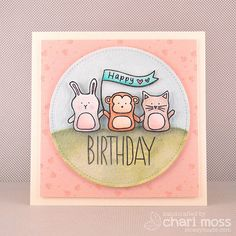 Such a Sweet card by Chari Moss using Simon Says Stamp Exclusives.