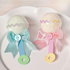 Baby Rattle Bath Fizzies - OrientalTrading.com
