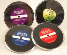 Save the Date Vinyl record fridge magnet for music themed wedding Personal-e-Yours Personal-e-Yours Music Wedding Invitations, Bohemian Wedding Invitations, Wedding Stationary, Geek Wedding, Wedding Music, Wedding Save The Dates, Our Wedding, Wedding Stuff, Festival Themed Wedding