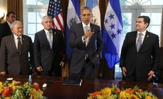 President Obama urged the Presidents of Guatemala, Honduras, and El Salvador to do everything they can to stem the flow of Migrant Children ...