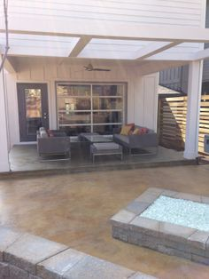 12 South out door living space - Anna Berry Design, LLC.