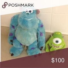 Monsters INC Sully plush doll Excellent condition, large size. Authentic Disney Store merchandise Disney Store Other