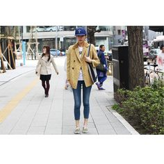 Great coat. Great casual look. Great for running errands. Yep. //FW Tokyo