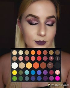 eyeshadow using james charles palette - eyeshadow using james charles palette ; eyeshadow looks using james charles palette ; eyeshadow looks using the james charles palette ; eyeshadow looks step by step using james charles palette Makeup Eye Looks, Eye Makeup Steps, Cute Makeup, Eyeshadow Looks, Creative Eye Makeup, Colorful Eye Makeup, Simple Eye Makeup, Makeup Inspo, Makeup Art