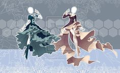 (CLOSED) Winter Inspired Outfits Adoptable by Risoluce on DeviantArt