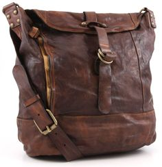 Campomaggi Lavata Shoulder Bag Leather cognac 42 cm - C1241VL-1702 | Designer Brands :: wardow.com