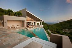 Particular Geometry and Captivating Caribbean Perspectives: ONE HUNDRED Pond Bay Property , Generously offering fantastic views no matter what the standpoint, the 100 Pond Bay Estate in Virgin Gorda, Caribbean, consists of six pavilions overlooking the most spectacular beach in the British Virgin Islands. Two infinity salt-water pools define t , Admin ,...