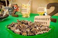 Safari 2nd Birthday Party | CatchMyParty.com